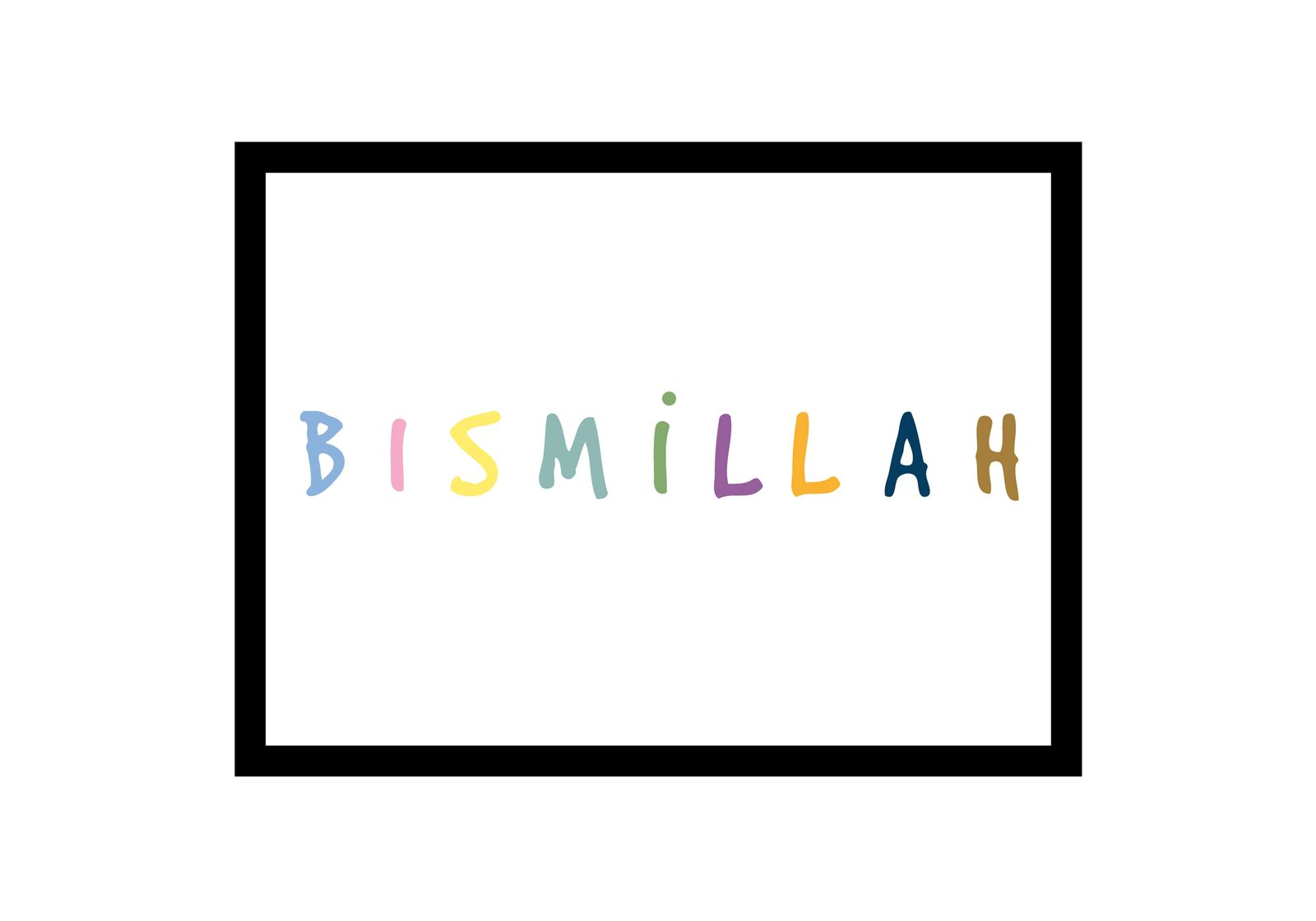 Bismillah bunt_quer_opt