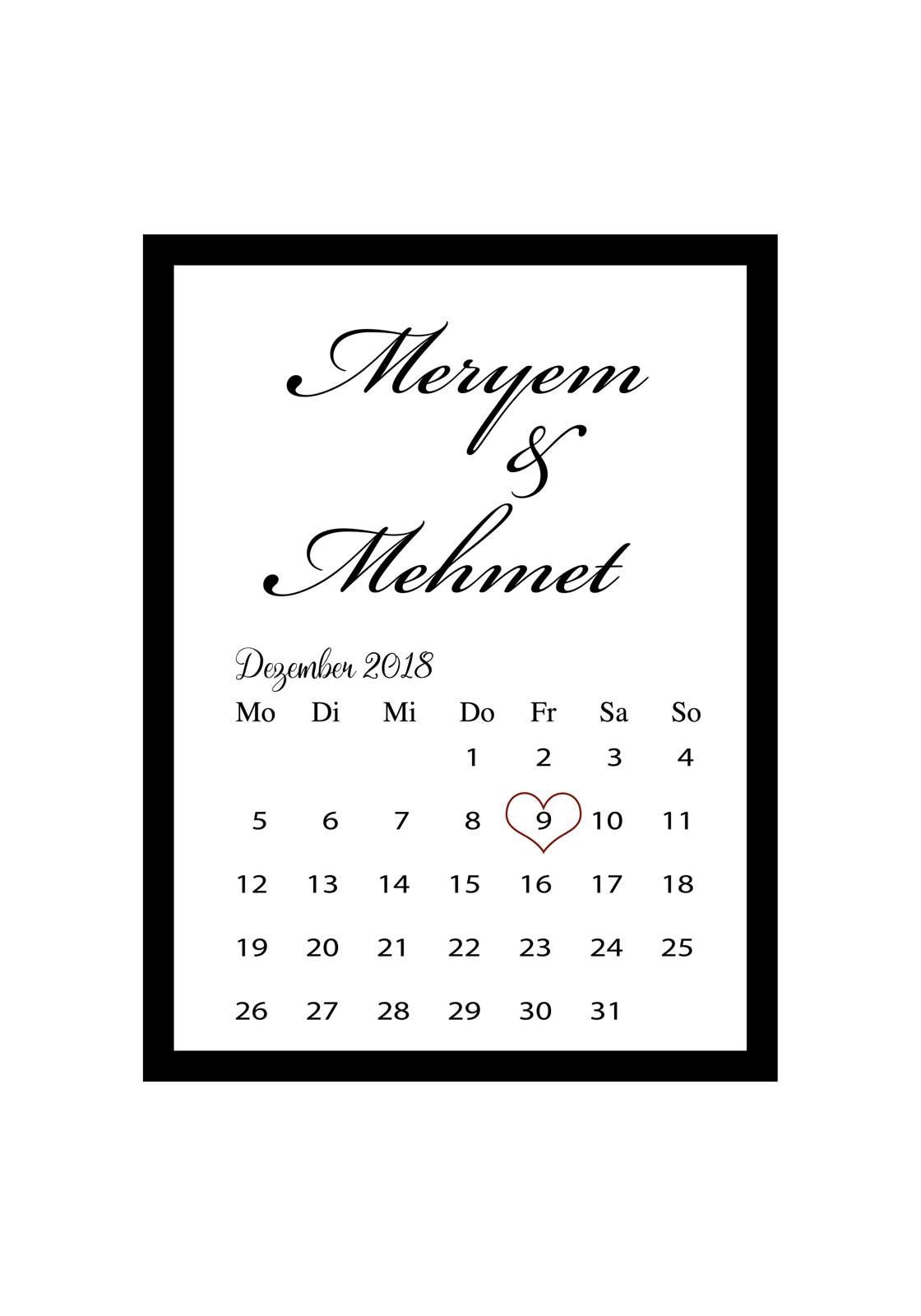 Evlilik hatırası takvim sayfası_opt